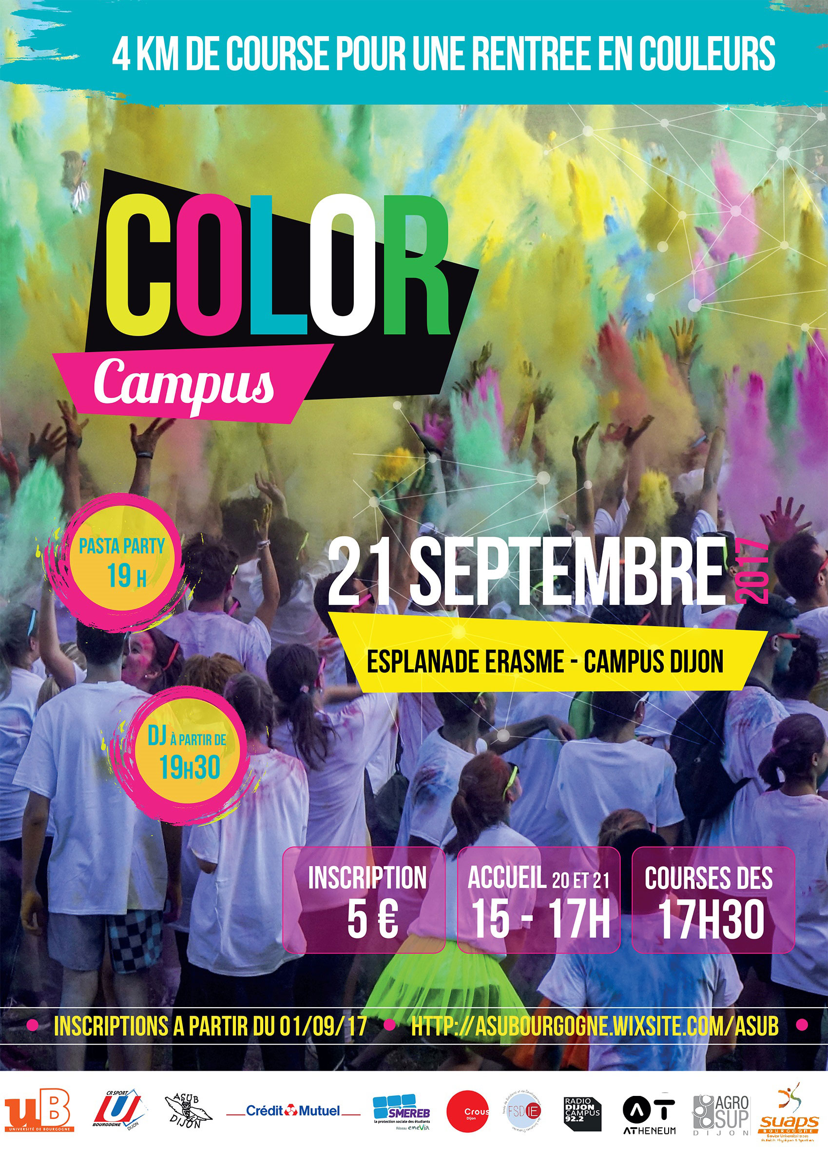 Affiche Color Campus au 31 08 2017