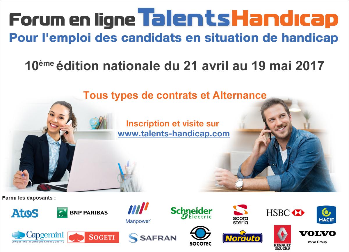 Affiche Talents Handicap
