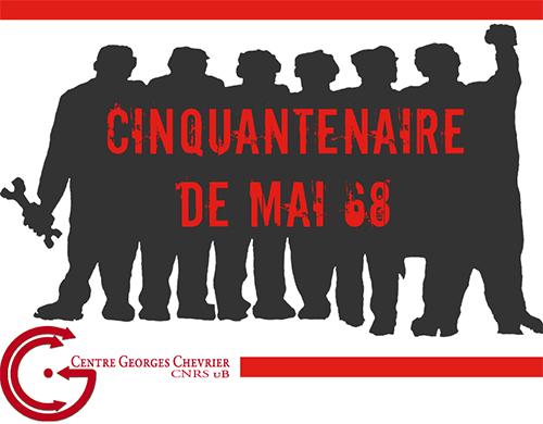 Mai 68 logo cinquantenaire