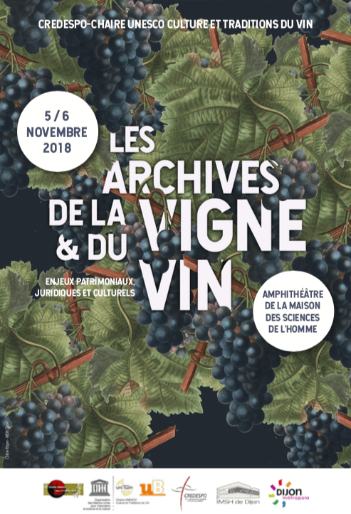 affiche archives vin