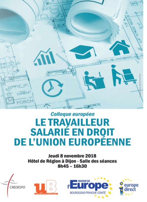 affiche colloque europe