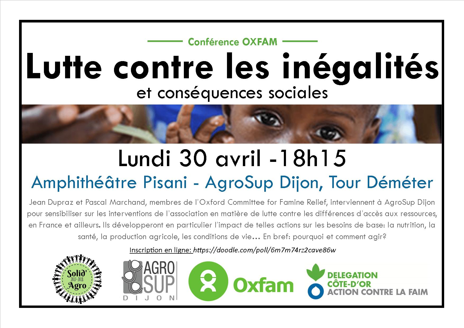 Conférence Oxfam