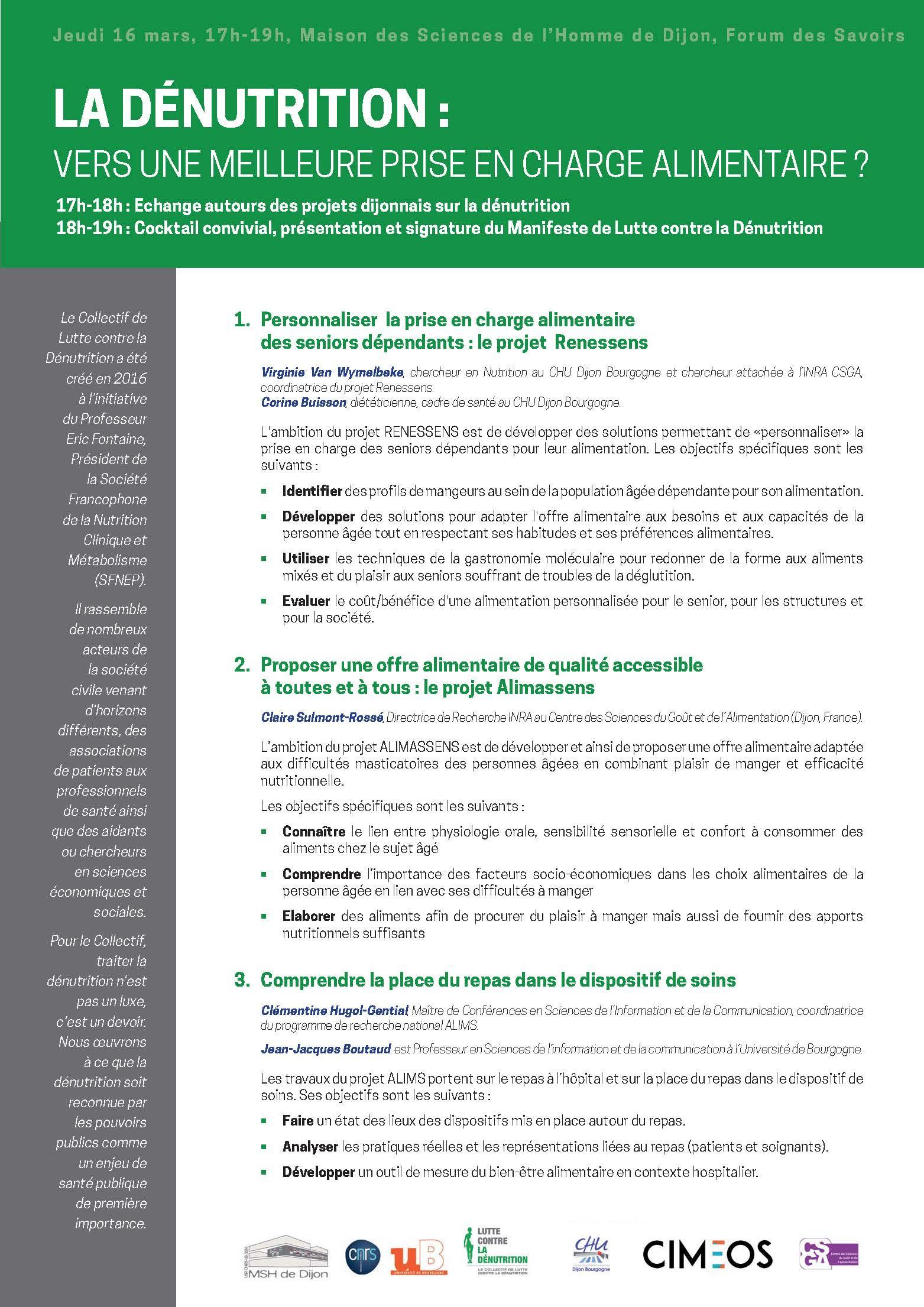 Programme Dijon denutrition