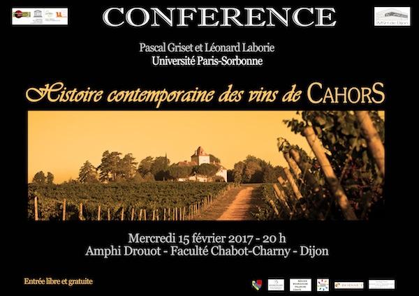 affiche conf Cahors