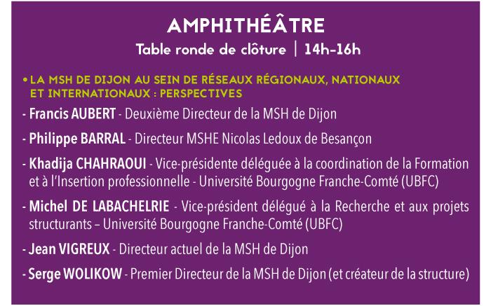 amphi table ronde