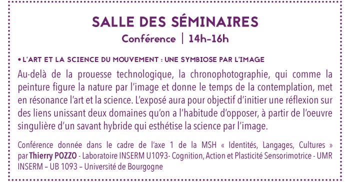 seminaires art science mouvement