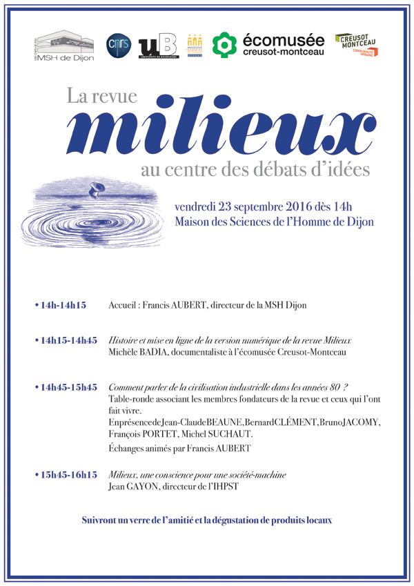 programme millieux A3 juin16 2