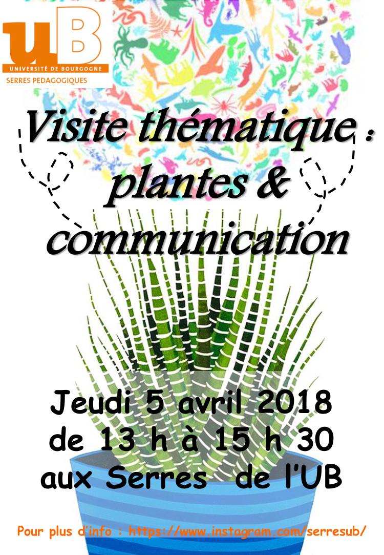 Affiche visite thématique plantes com 04 2018