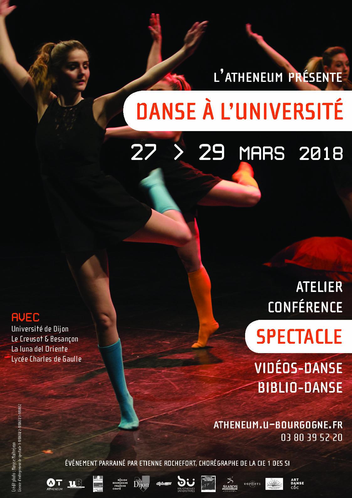 Affiche Danse à luB final BD