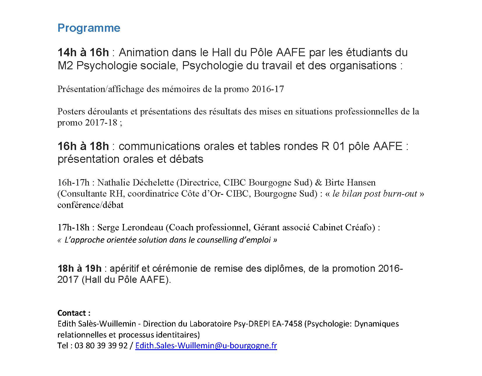 colloque psychologue formation professionnalisation Page 2