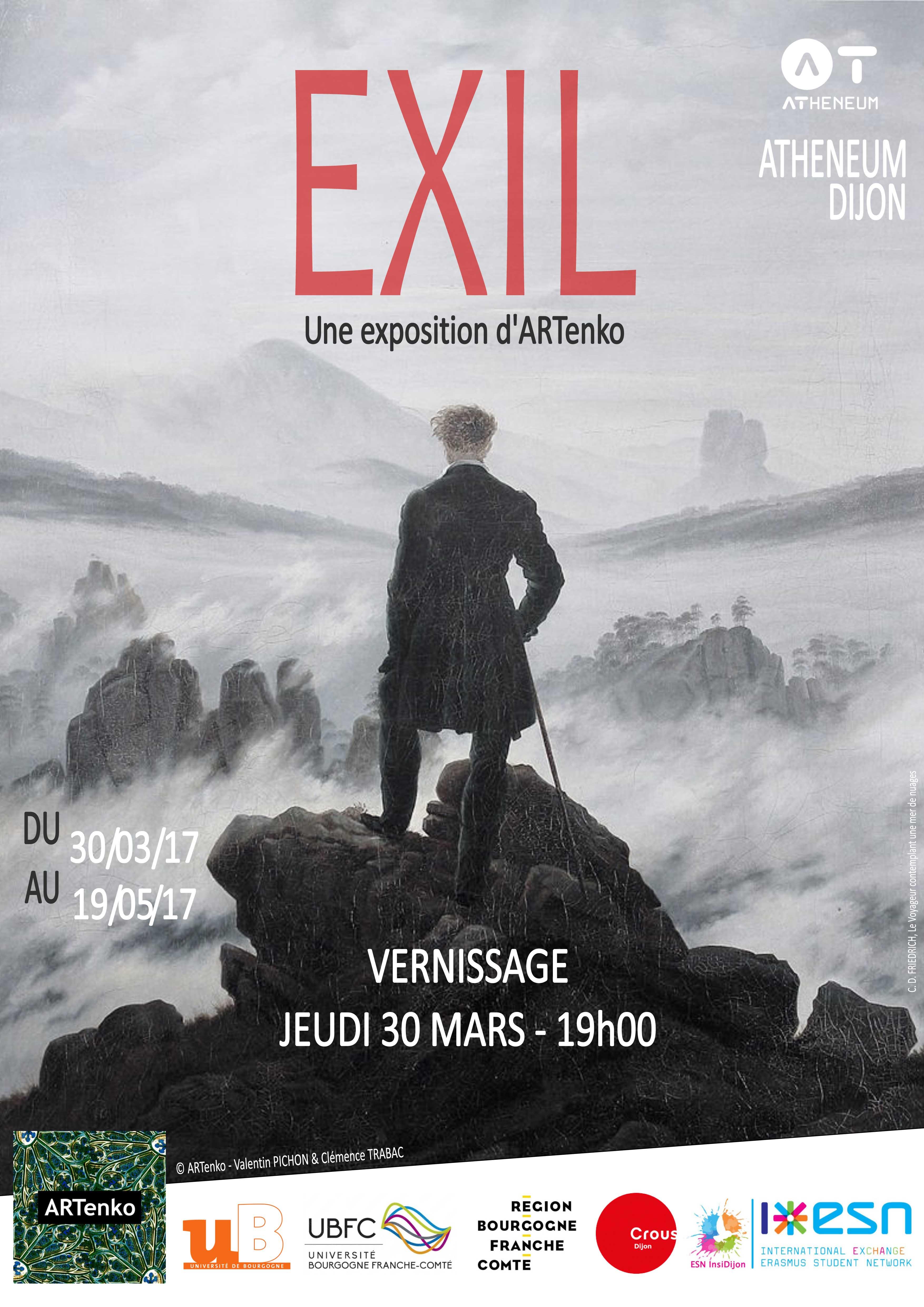 Affiche EXIL BD