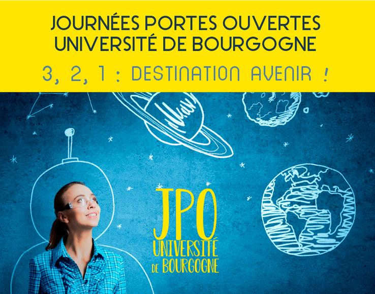 JPO 2019 : venez visiter les différents campus de l'uB !
