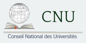 L'uB accueille le Conseil National des Universités 5ème section