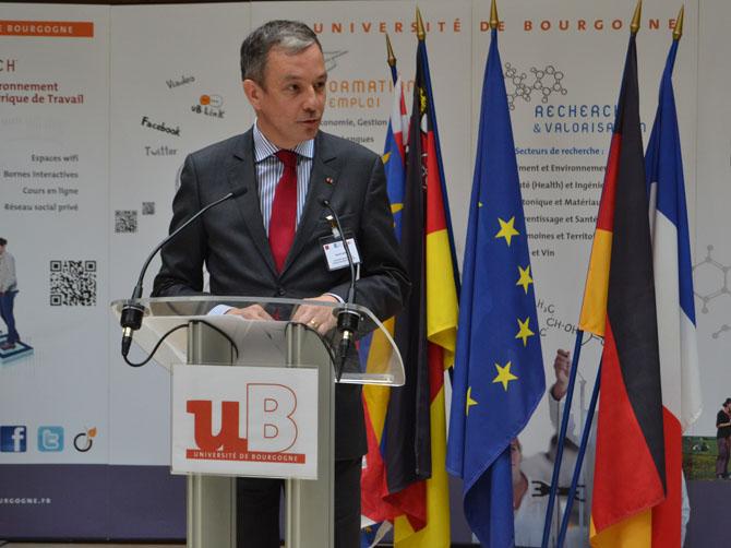 David Capitant, vice-président de l'Université Franco-Allemande (UFA).