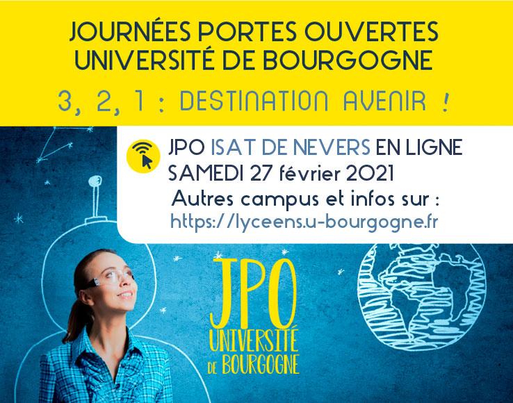 JPO 2021 à l'uB : tout ce qu'il faut savoir !