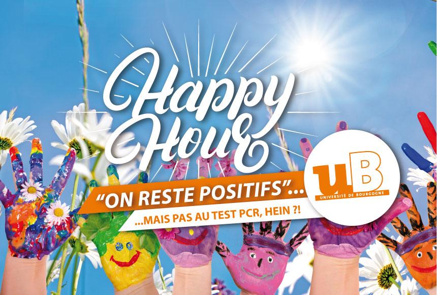 Découvrez Happy Hour, la newsletter étudiante 100 % positive !