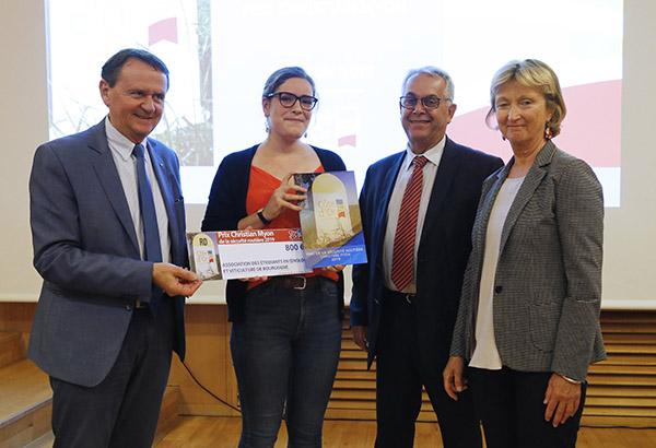 Une association d'étudiants de l'IUVV lauréate du prix Christian Myon